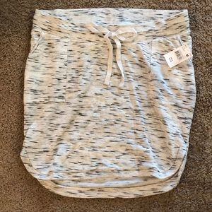 NWT maternity knit skirt